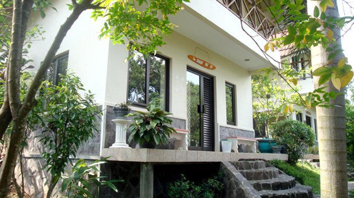 Guest House Tupai dilihat dari samping