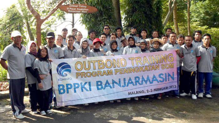 Outbound BPPKI Banjarmasin, Kalsel