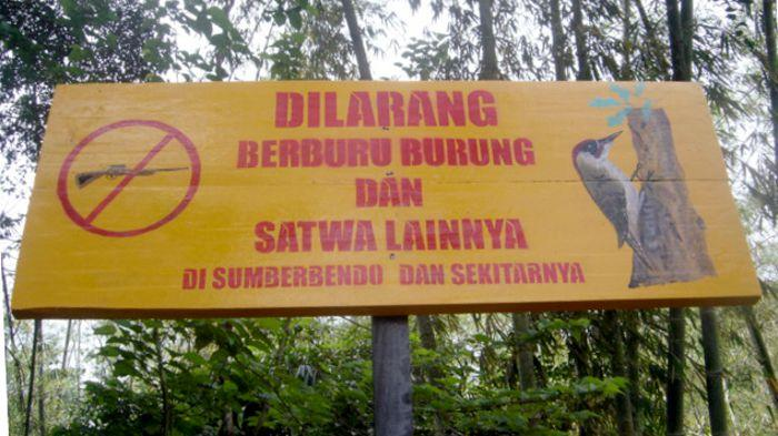 Promotion of Village's Wildlife Hunting Ban