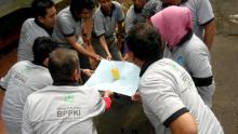 Teamwork building and outward bound of BPPKI Banjarmasin, South Kalimantan
