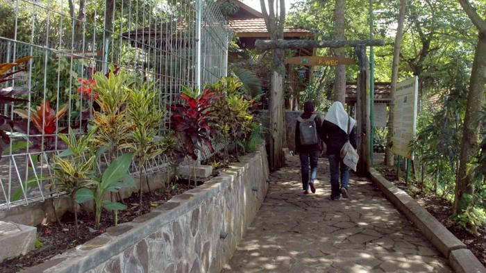 Entrance of Education facilities